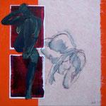 On verra bien, 2010, 50 x 50 cm, acrylique sur toile