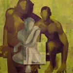 Enveloppes, 2007, 70 x 70 cm, acrylique sur toile