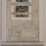 Saveur de la toile blanche 9, diptyque 120 x 40 cm, 2018