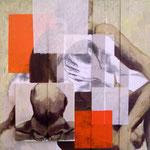 Trivalence, 2009, 80 x 80 cm, acrylique sur toile