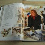 Twee bladzijden in het boek gaan over mijn werk