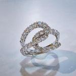 K18WGダイヤモンドリング D:1.80ct 現行サイズ:12.5番 ¥298,000(税込)