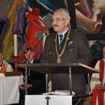 Als offizieller Vertreter der Stadt München sendet Stadtrat Otto Seidl seine Glückwünsche