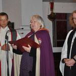 Die Repräsentantin der Nagelkreuzgemeinschaft Deutschlands, Frau Hannelore Schüler, sendet ihre herzlichsten Grüße
