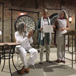 Gong mit Don und Kay im Adelhaus