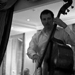 Concert à l'hôtel de Sèze - Olivier Gatto (contrebasse) - Photo:© Pierre Yvon