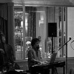 Concert à l'hôtel de Sèze - Olivier Gatto (contrebasse) et Thomas Bercy (piano) - Photo:© Pierre Yvon