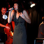 Concert au Comptoir du jazz - Thomas Bercy (piano) et Jonathan Hedeline (contrebasse) - Photo:© Thanya