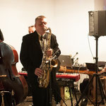 Concert pour un mariage - Jean Marc Montaut (piano), Laurent Vanhée (contrebasse), Benoît Auprêtre (batterie), et Michel Mondou (saxophone)