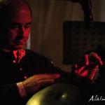 Jean-Pierre Riu au Hang - Première partie de notre concert - Photo:© Alain Ronteix