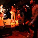 Olivier Gatto (contrebasse), Fabrice Mounier (Clarinette) et Stéphane Borde (banjo) - Jam session swing - Comptoir du jazz à Bordeaux - Photo:© JC Art View