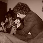 David Cairol et Nathalie (chanteuse) - Photo:© Blandine