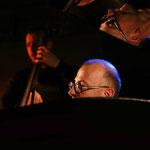 Jonathan Hedeline (contrebasse) et Fred Lasnier (piano) - Jam session swing - Comptoir du jazz à Bordeaux - Photo:© JC Art View