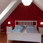 """Rotes"" Schlafzimmer"