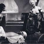 Schauspielhaus Frankfurt: Erste Liebe/ Der Auftrag (Heiner Müller)/ Regie: Wilfried Minks