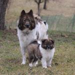 Mama mit Tochter Cherina