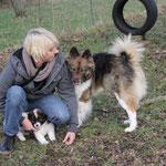 auch Alina aus Ravensburg besucht Schwester mit Nichten und Neffen