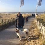 Dasko im Urlaub am Meer