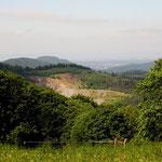 Blick zum Mackenheimer Steinbruch