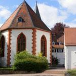 evangelische Kirche neben dem ehemaligen Nonnenkloster