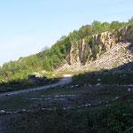 im Steinbruch