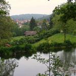 Blick von der Quelle auf Hammelbach