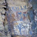 Felsmalerei aus dem 21. Jahrhundert