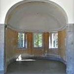 Trinkbrunnen-Nische in Wandelhalle