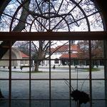 Diagonalblick Konzertsaal - Ehemalige Milchkur