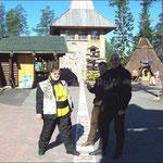 Am Polarkreis - Rovaniemie/FIN