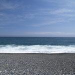 太平洋 七里御浜