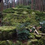 熊野古道 わろーだ石