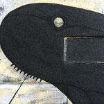 """""""ムクリコクリ"""" 12×12cm 木材、岩絵具、泥絵具、銀箔、膠"""