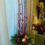 11月 リボンで飾るクリスマス