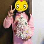 小学1年生のクリスマスツリー