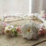 プリザーブドの花冠