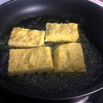 In Butter goldbraun braten