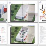 Prospektgestaltung Für die Firma MZE Engineering GmbH, Gesamtansicht