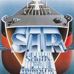 Prospekt-Titelillustration für die Fa.S.I.R., Schiffs- und Industriereinigung