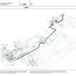Zeichnung eines Hydraulischen Schaltplans für ein Technisches Handbuch