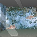 Phase 2 _ Entrümpelter Keller mit Schimmelwänden