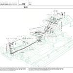 Zeichnung eines Hydrailischen Schaltplans für ein Technisches Handbuch