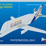 Mobilee des Airbus-Supertransporters für eine Werbeveranstaltung der Daimler-Benz Aerospace