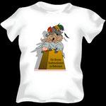 Die Bremer Stadtmusikanten im Ruhezustand auf T-Shirt
