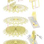 Bauanleitung zum Modell des Riesenrads (co. Monno Marten)