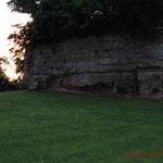 Außenmauer der Burg Hohenecken #Ghosthunters #paranormal