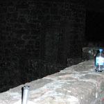 Burg Neudahn, unser Basislager 'auf dem Dach'.