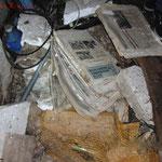 Teilweise war der Boden übersät von alten Zeitungen. #Ghosthunter #Geisterjäger #paranormal #ghost