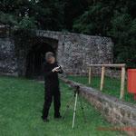 Equipmentaufbau, Paranormal-Untersuchung Burg Hohenecken #Ghosthunters #paranormal