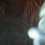 Handy-Kamera, Standard-Einstellungen mit Blitz, Zigarettenrauch